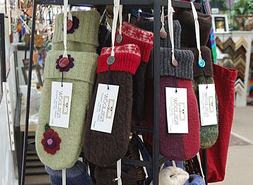 Sweater Mittens by Stephanie Roscoe